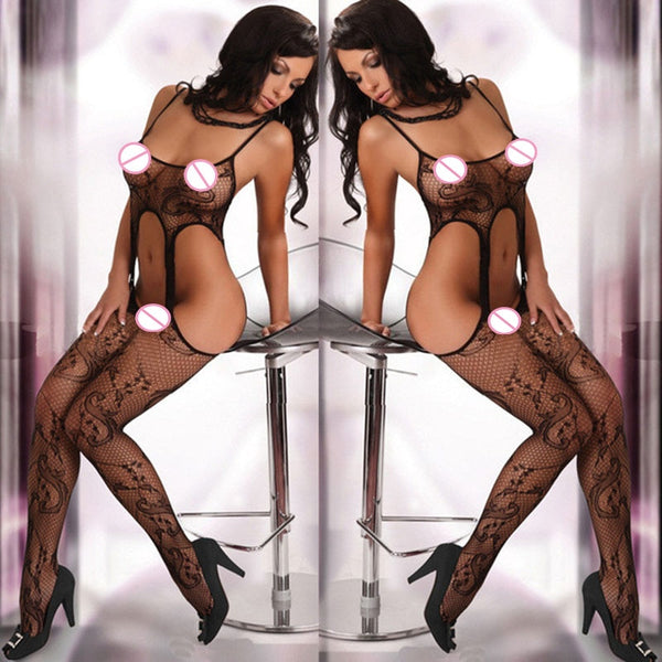 Sexy Lingerie Hot Women Underwear Open Crotch Babydoll Erotic Lingerie Sex Products Sexy Lenceria Costumes Intimates Sleepwear - specialsextoys.com