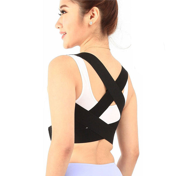 New Adjustable Posture Corrector Back Support Belt Shoulder Bandage Corset Back Pain Relief Orthopedic Lumbar Men/women - specialsextoys.com