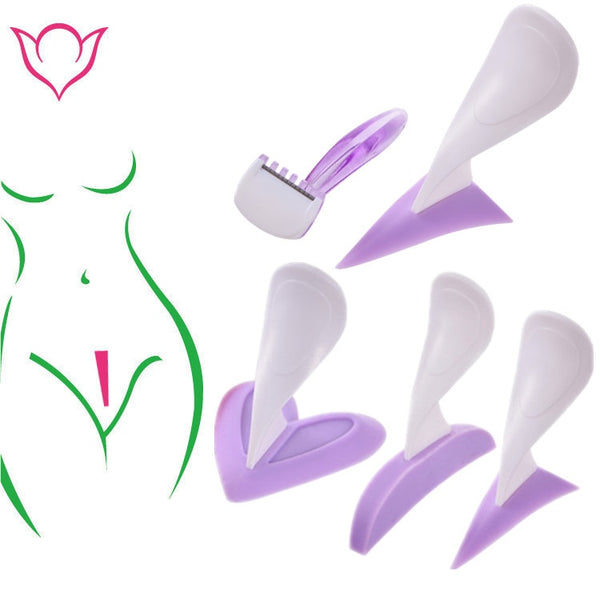 For Women Bikini Dedicated Privates Shaving Stencil Sexy Female Pubic Hair Razor Intimate Shaping Beauty Device Tool - specialsextoys.com