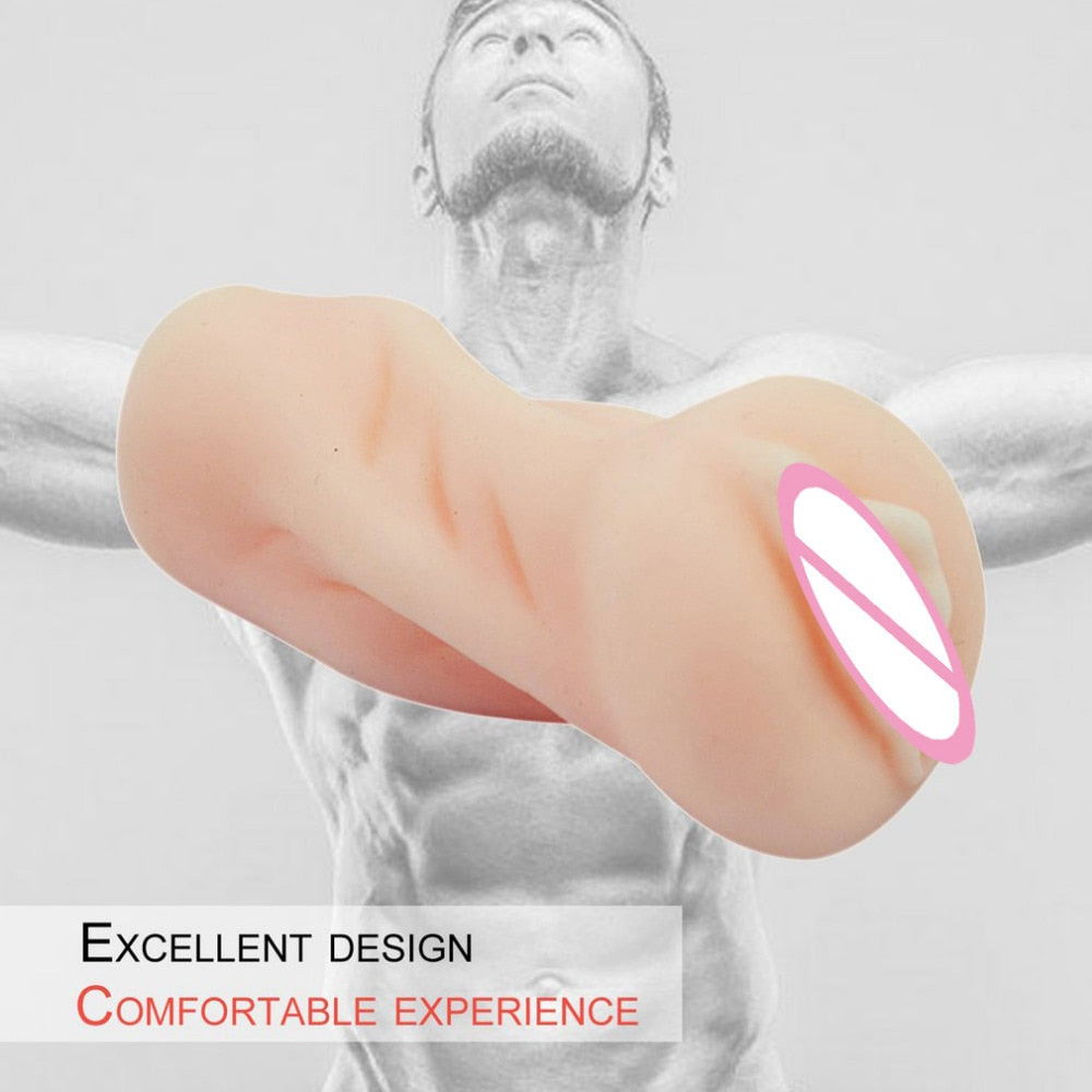 Silicone Small Pussy Realistic Vagina Mini Male Masturbator Young Virgin's Pussy Adult Masturbation Cup Sex Toys for Man - specialsextoys.com