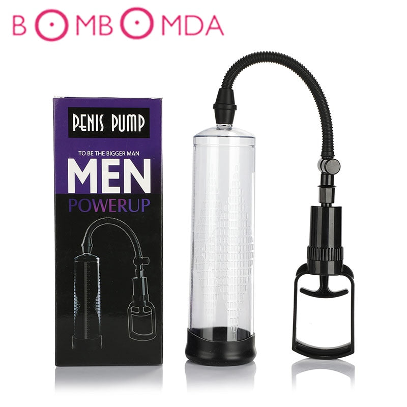 Penis Pump Vibrator Sex Toys for Adults Penis Extender Erotic Vibrator For Men Sex Shop Male Masturbator Delayed Lasting Trainer - specialsextoys.com