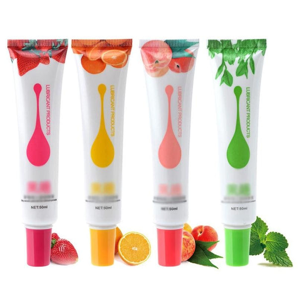 50ml Fruit Flavour Water Based Lubricant - specialsextoys.com