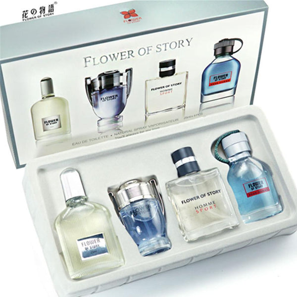 MayCreate 1 Set Men Pheromone Lasting Fresh Fragrance Perfumes 25ml x 4 - specialsextoys.com