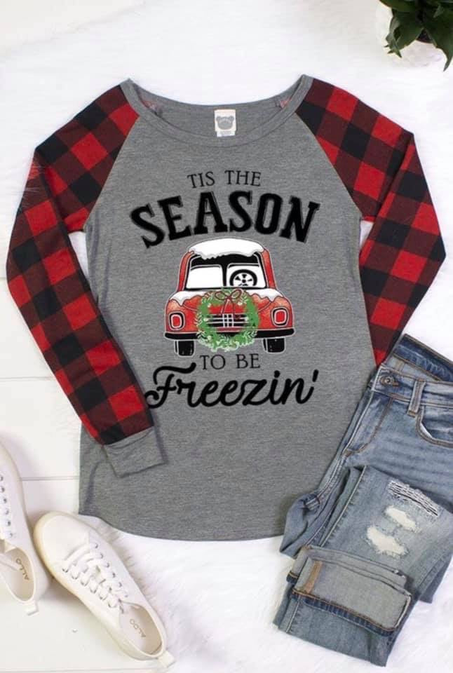 Season To Be Freezin Top