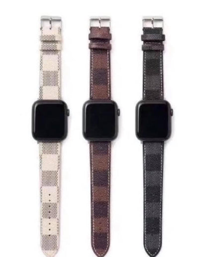 Checkered Watch Band