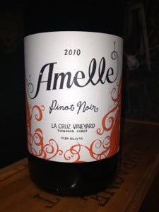 Amelle wine Lable
