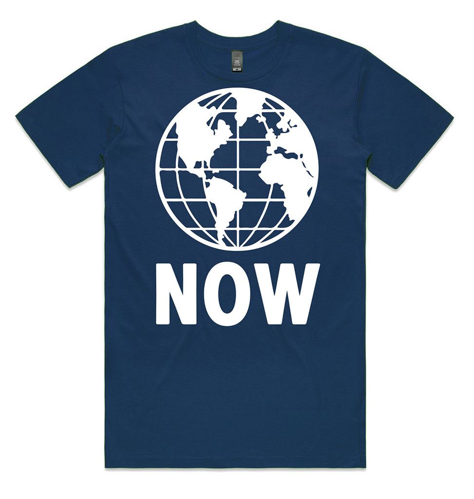 Earth Now - navy