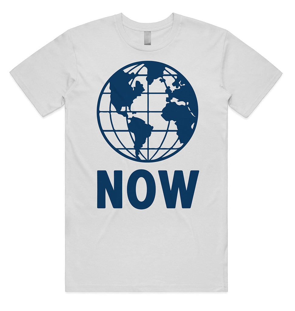 Earth Now - white