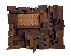 ABSTRACT WOOD ART # 2