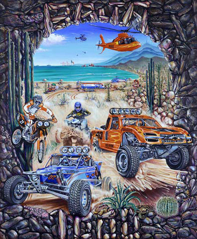 The Tecate SCORE Baja 1000 / 40th Anniversary