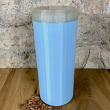 Two Litre Light Blue Container with Pearl Lid - Plastic Free Biodegradable