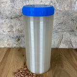 Two Litre Pearl Container with Dark Blue Lid - Plastic Free Biodegradable
