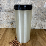 Two Litre Pearl Container with Black Lid - Plastic Free Biodegradable