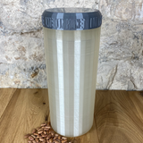 Two Litre Pearl Container with Silver Grey Lid - Plastic Free Biodegradable