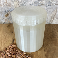 One Litre Pearl Container with Pearl Lid - Plastic Free Biodegradable
