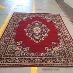 Persian Rug Red Victorian 2.7x1.8