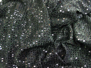 Round - Sequin Black 2.5
