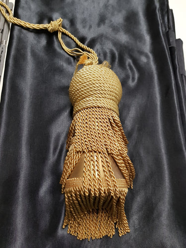 Gold Large Dome Tassel