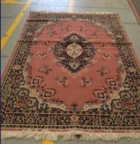 Persian Rug Pink Victorian 2.7x1.8
