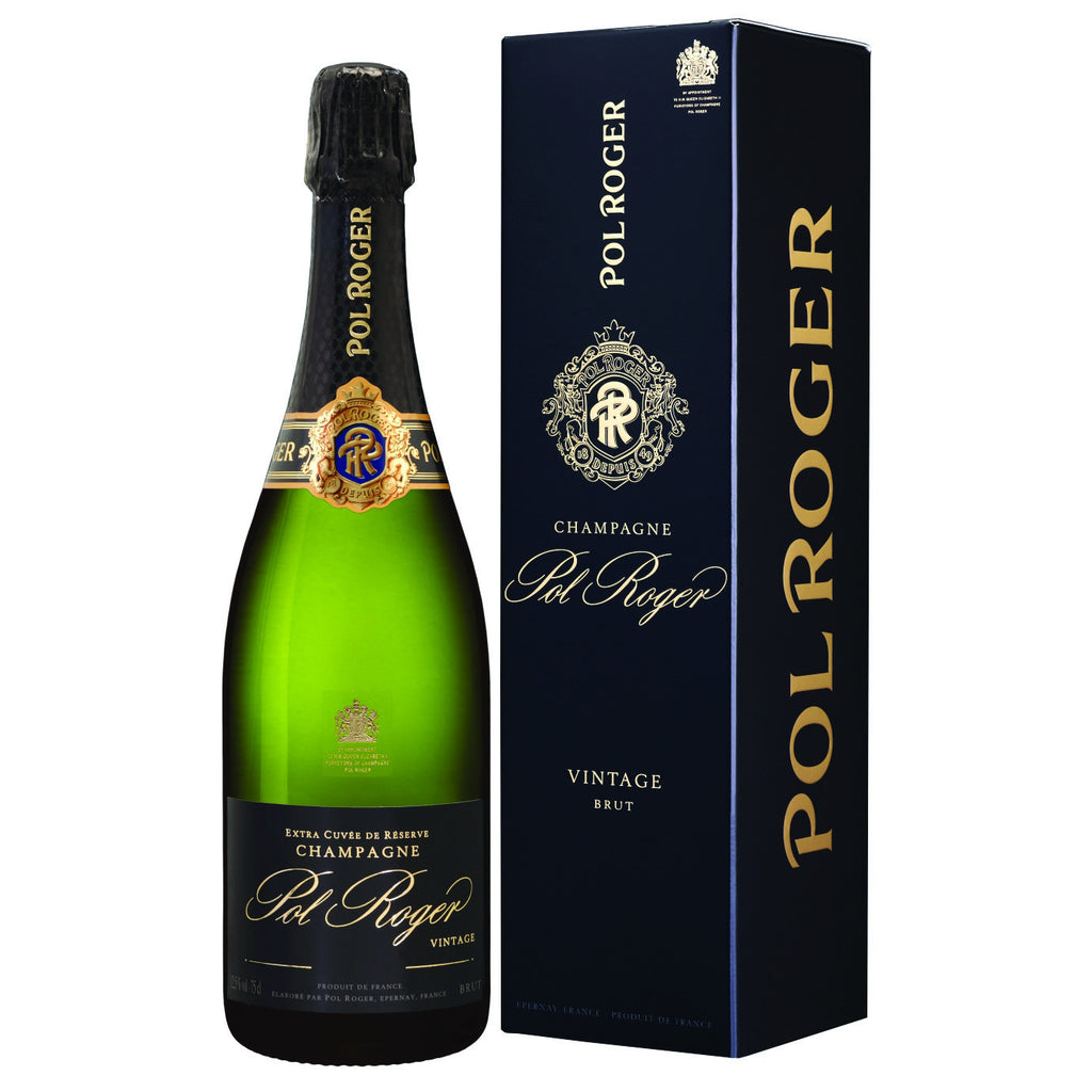 Pol Roger Vintage Champagne with Gift Box