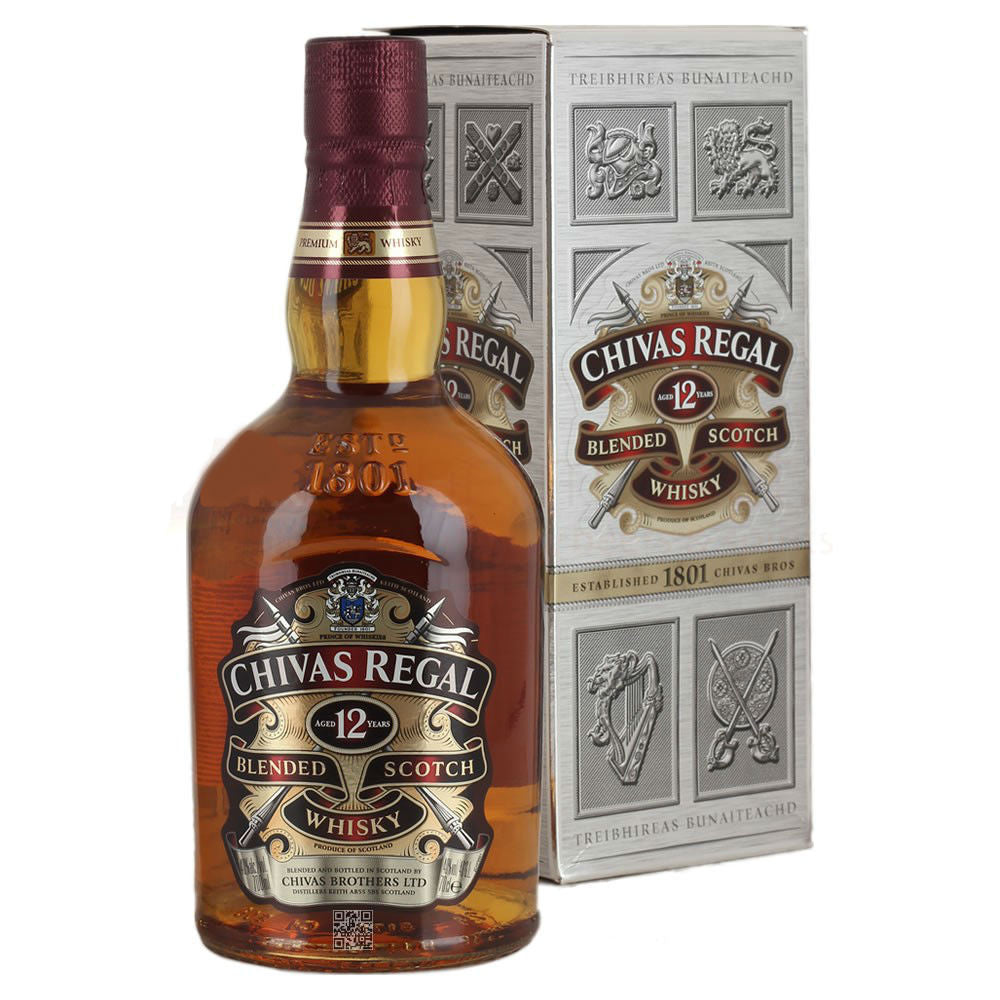 Chivas Regal 12 Year Old Scotch Whiskey 700ml