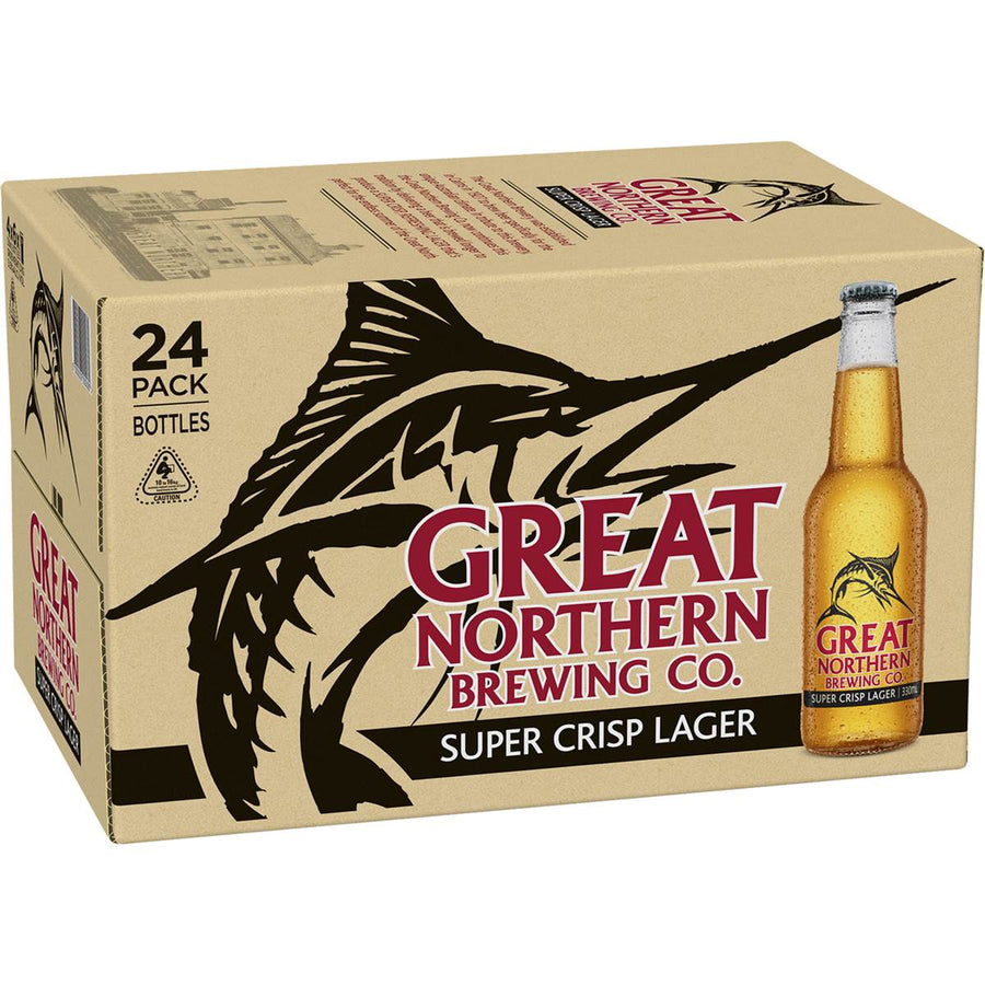 Great Northern Super Crisp Beer