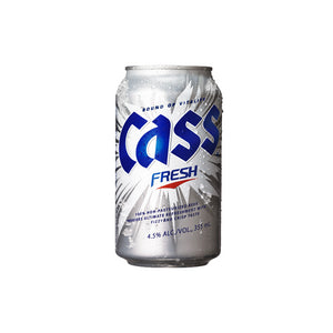 Cass Fresh Korean Beer Cans