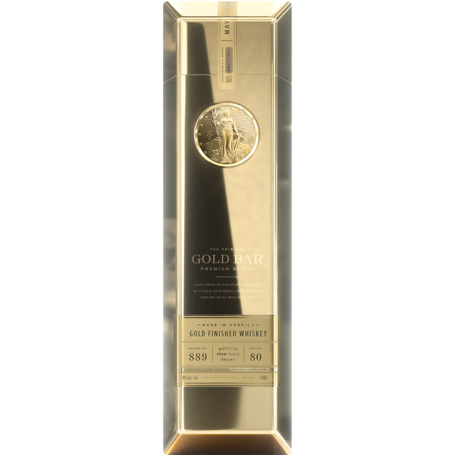 Gold Bar Gold Finished Whiskey 750ml