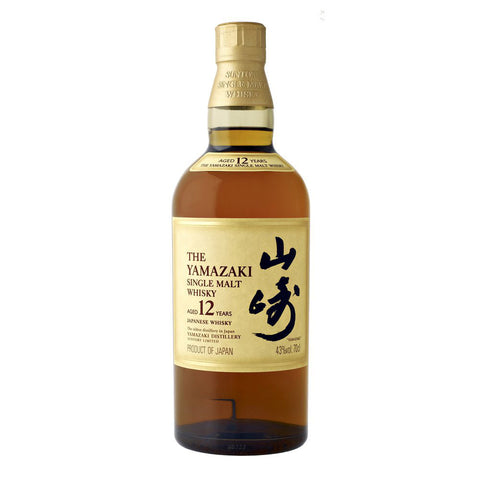 Yamazaki 12 Year Single Malt Whisky 700mL