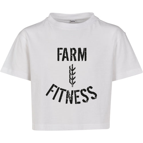 Women's Farm Sheaf Fitness Cropped Tee