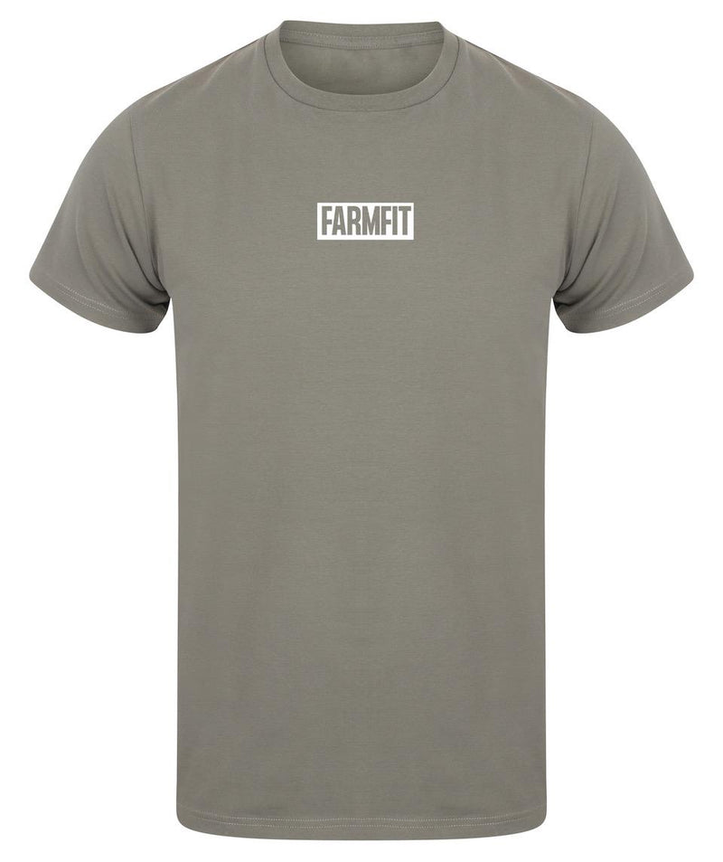 FarmFit Athletic fit Box Logo T-Shirt