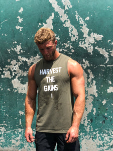 Harvest The Gains Cut Off Tank