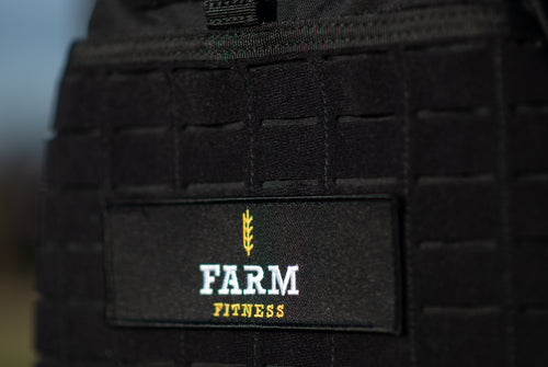 Farm Fitness Versatile Logo  Patch