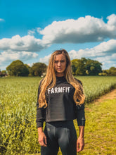 Load image into Gallery viewer, Women's Farm Fit Cropped Sweatshirt