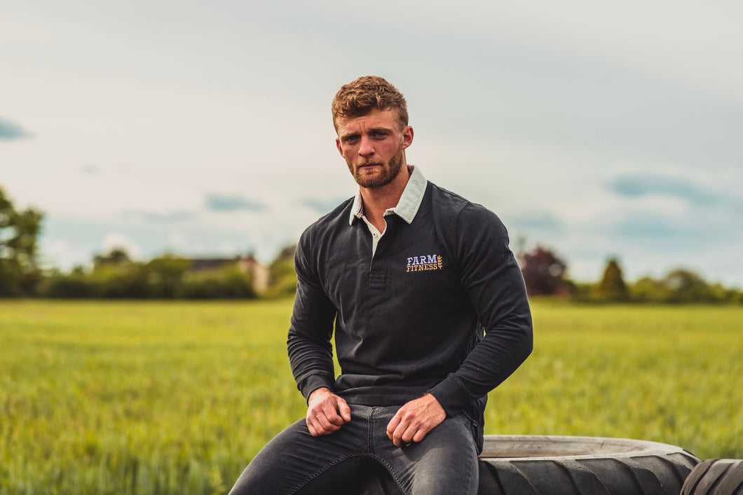 Farm Fitness long sleeve original rugby shirt