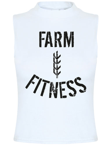 Women's Farm Sheaf Fitness Tank