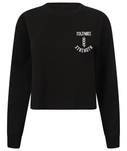 Women's Cultivate Strength Cropped Jumper
