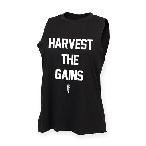 Men's Harvest the Gains Cut Off Tank