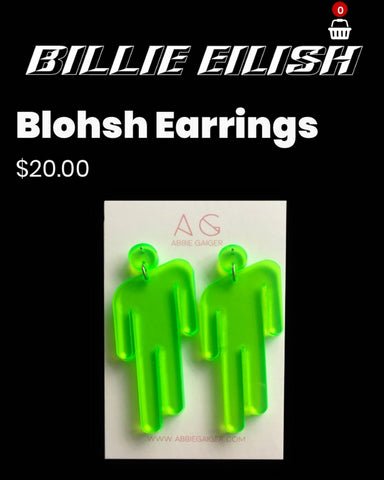 Billie Eilish Blohsh Earrings