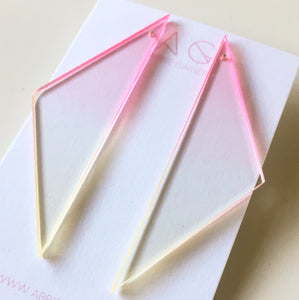 Ombre Tri Stud Earrings