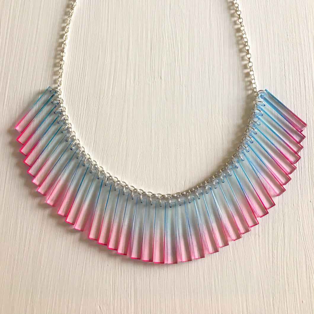 Chroma Short Cluster Necklace