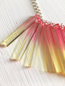 Chroma Long Cluster Necklace