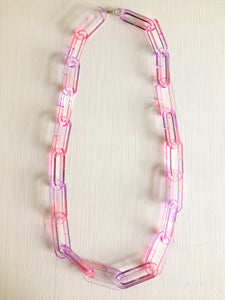 Chroma Chain Link Necklace