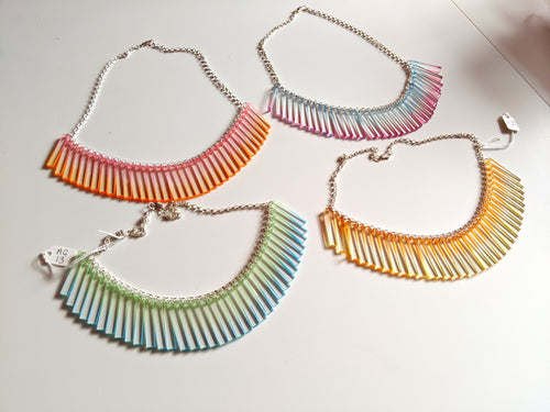 SALE - Chroma Short Cluster Necklace