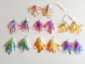 SALE - Chroma Cluster Earrings