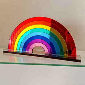 Mirror Acrylic Rainbows - Small and Large