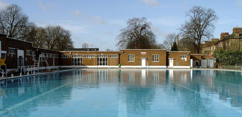 brockwell lido outdoor winter swimming