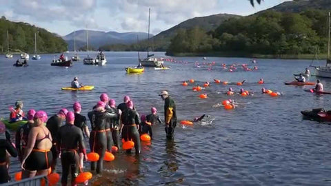 open water swimming london
