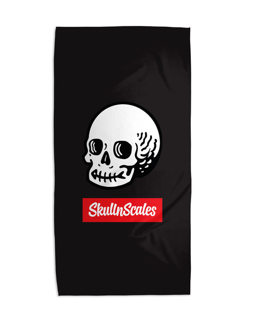 SkullnScales Black Light Sport Towel