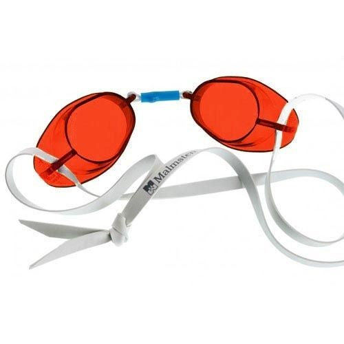 red swedish goggles